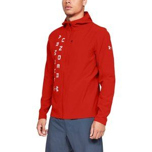 Under Armour Jacket XXL Outrun The Storm, Red, NEW